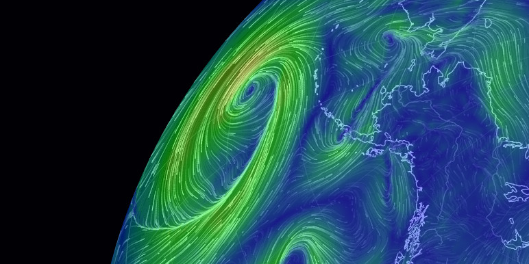 About Earth A Global Map Of Wind Weather And Ocean
